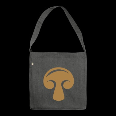 Mushroom mushroom - Shoulder Bag made from recycled material