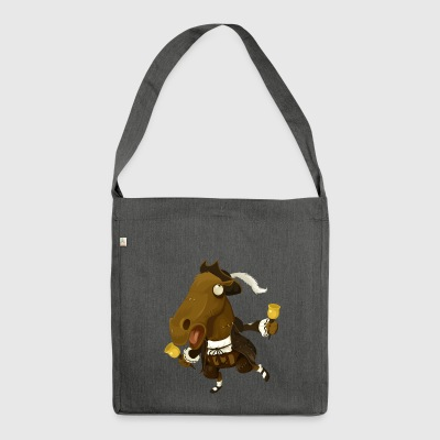 horse - Shoulder Bag made from recycled material