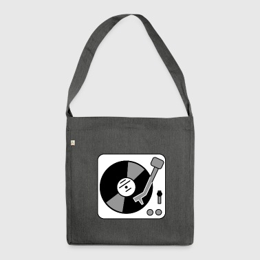Turntable - turntable - Shoulder Bag made from recycled material