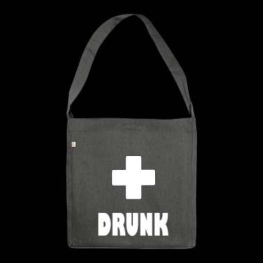 drunk plus - Shoulder Bag made from recycled material