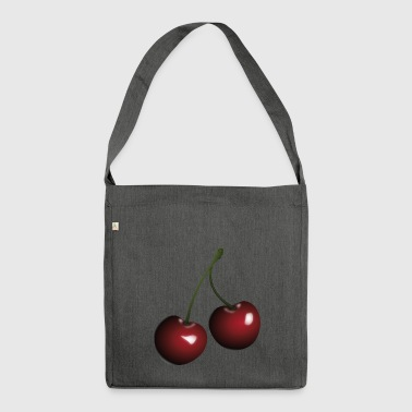 cherries - Shoulder Bag made from recycled material