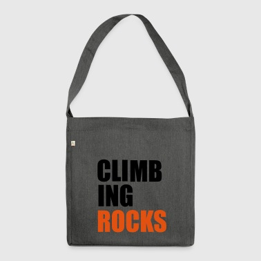 2541614 15944330 climbing - Shoulder Bag made from recycled material