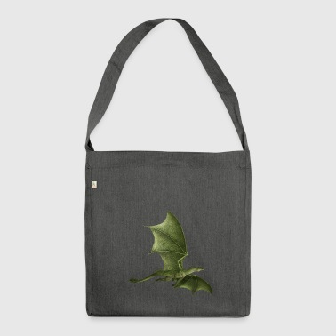Dragon gift idea - Shoulder Bag made from recycled material