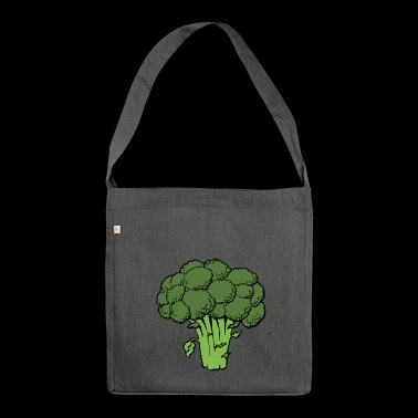 broccoli - Shoulder Bag made from recycled material
