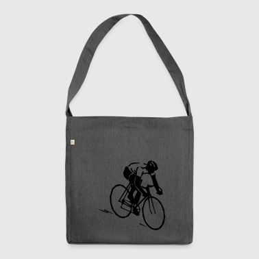 bike, ride, hobby, sport - Shoulder Bag made from recycled material