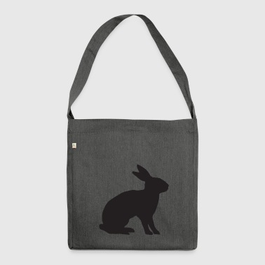 Osterhase - Schultertasche aus Recycling-Material