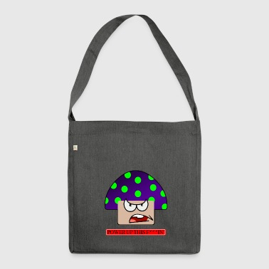 Angry mushroom - Shoulder Bag made from recycled material