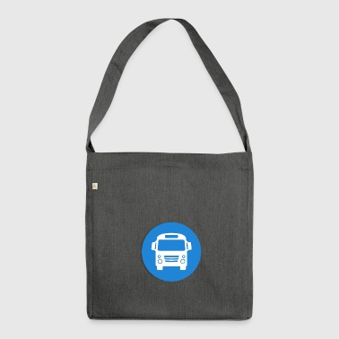Bus - Schultertasche aus Recycling-Material