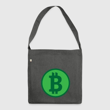 Bitcoin Cash - Shoulder Bag made from recycled material