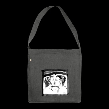 kiss - Borsa in materiale riciclato