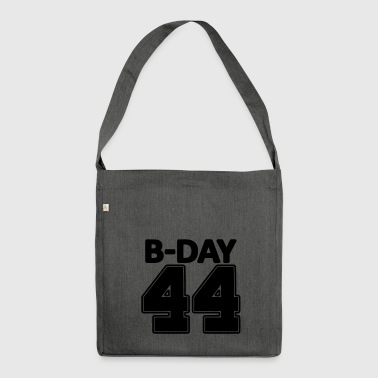 44 years number number 44th birthday numbers jersey - Shoulder Bag made from recycled material