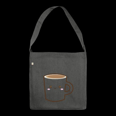 Coffee Coffee - Shoulder Bag made from recycled material