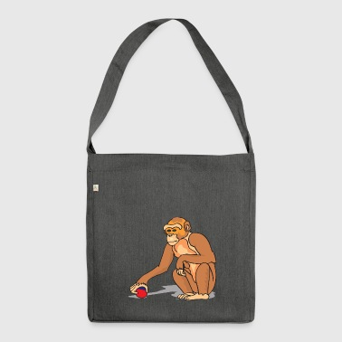 monkey - Shoulder Bag made from recycled material
