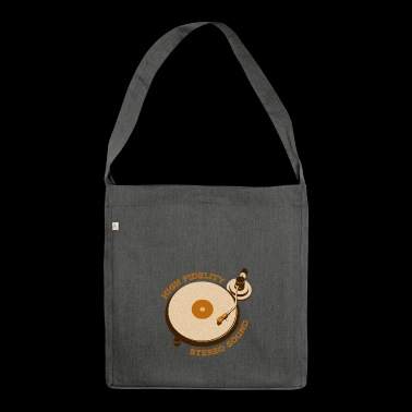 Reto turntable - Shoulder Bag made from recycled material
