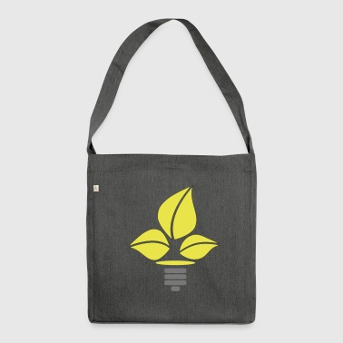 Eco Lightbulb - Shoulder Bag made from recycled material