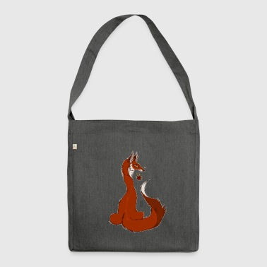 Red Fox - Schultertasche aus Recycling-Material