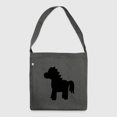 Horse gift - Shoulder Bag made from recycled material