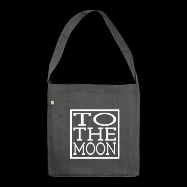TO THE MOON - Shoulder Bag made from recycled material