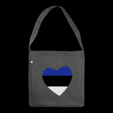 Heart of Estonia - Shoulder Bag made from recycled material