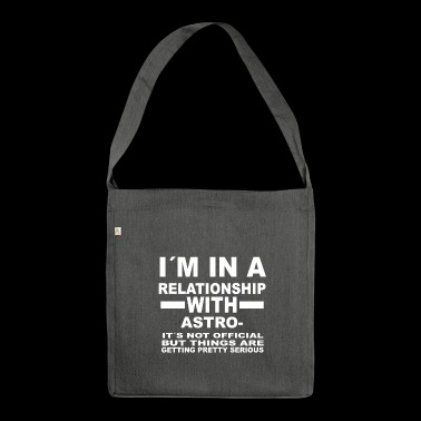 relationship with ASTRONOMY - Shoulder Bag made from recycled material