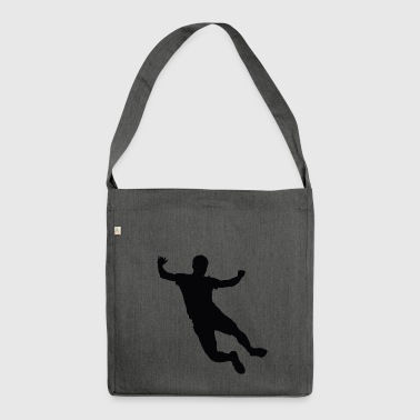 high jump jumping jump jump ballerina22 - Shoulder Bag made from recycled material