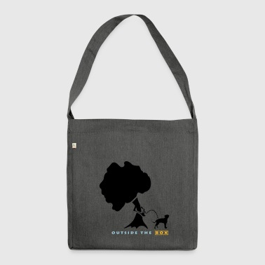 Outside The Box - Dogwalk - Shoulder Bag made from recycled material