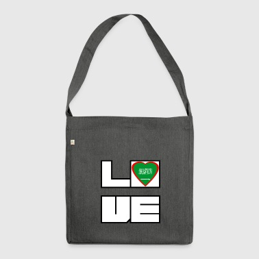 Love Land Roots Saudi Arabien - Schultertasche aus Recycling-Material
