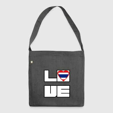 Love Land Roots Thailand - Schultertasche aus Recycling-Material