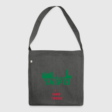 I Was There TaiPei - Shoulder Bag made from recycled material