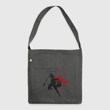 Christian Warrior - Schultertasche aus Recycling-Material