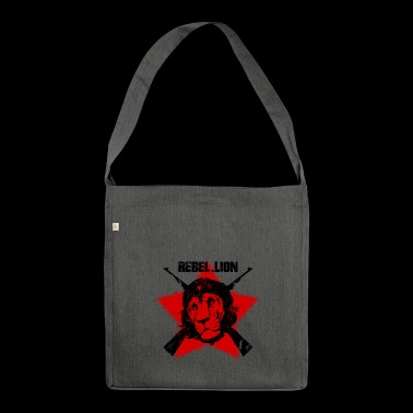 Rebel Lion - Shoulder Bag made from recycled material