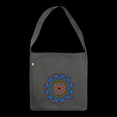 CIRCULAR PATTERN - Shoulder Bag made from recycled material