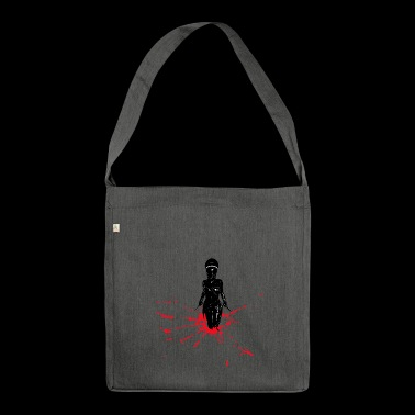 Dead Skin Mask - Shoulder Bag made from recycled material