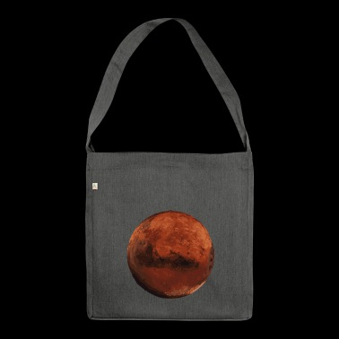 Mars - Schultertasche aus Recycling-Material