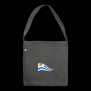 Banner. Flagge.Landesflagge. Uruguay. South America - Shoulder Bag made from recycled material
