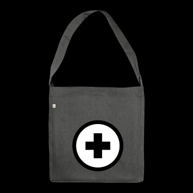 Plus sign - Shoulder Bag made from recycled material