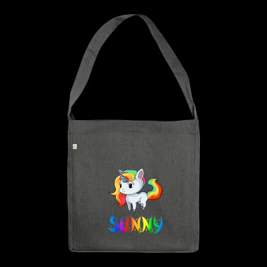 Sunny unicorn - Shoulder Bag made from recycled material
