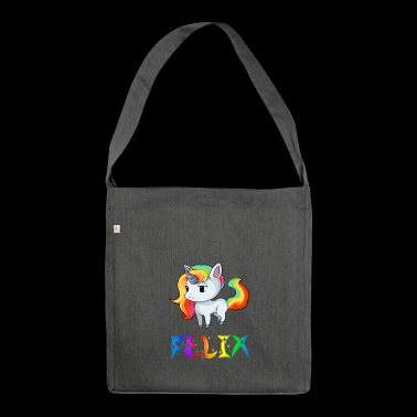 Felix unicorn - Shoulder Bag made from recycled material