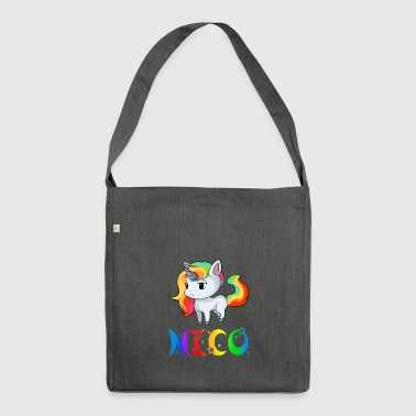 Unicorn Nico - Shoulder Bag made from recycled material