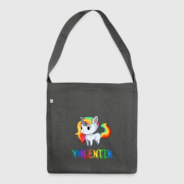 Unicorn valentine - Shoulder Bag made from recycled material
