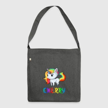 Unicorn Cherry - Shoulder Bag made from recycled material