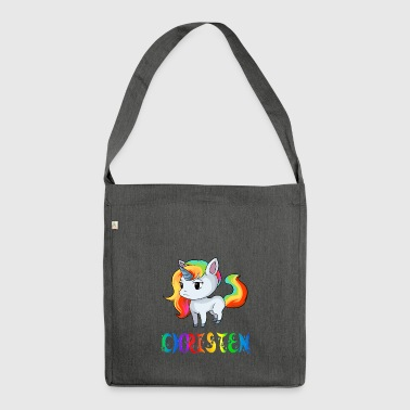 Unicorn Christians - Shoulder Bag made from recycled material