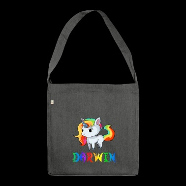 Unicorn Darwin - Shoulder Bag made from recycled material