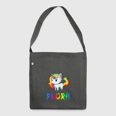 Unicorn flora - Shoulder Bag made from recycled material