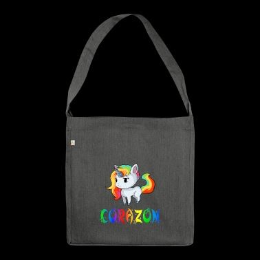 Unicorn Corazon - Shoulder Bag made from recycled material
