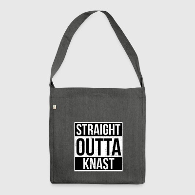 Straight Outta Knast - Schultertasche aus Recycling-Material