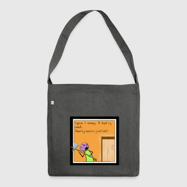 Snack Attack - Shoulder Bag made from recycled material