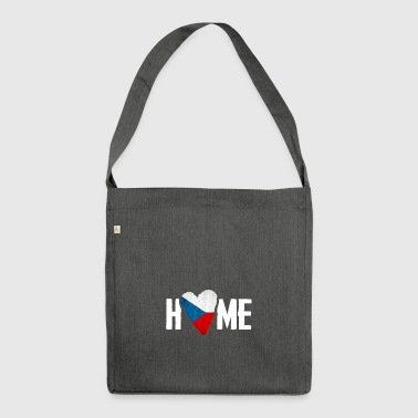 HOME CZECH REPUBLIC HEIMAT Czech Republic - Shoulder Bag made from recycled material