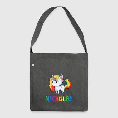 Unicorn Nicholas - Shoulder Bag made from recycled material
