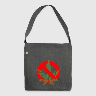 Cannabis Prohibition - Shoulder Bag made from recycled material